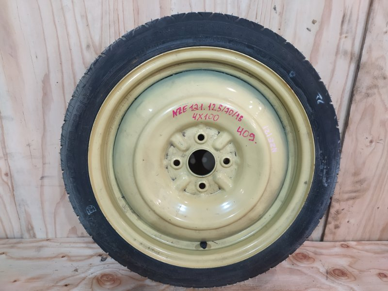 Запасное колесо Toyota Corolla Fielder NZE121 1NZ-FE 2002