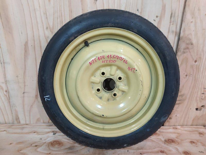 Запасное колесо Toyota Allex NZE124 1NZ-FE 2002