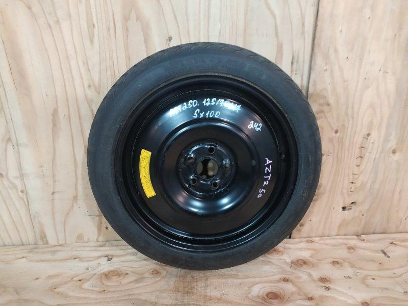 Запасное колесо Toyota Avensis AZT250 1AZ-FSE 2007