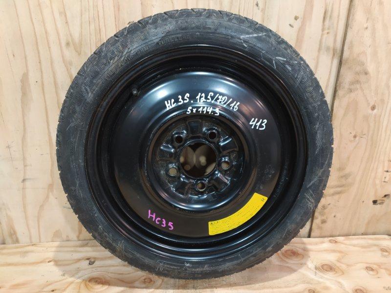 Запасное колесо Nissan Laurel HC35 RB20DE 2002