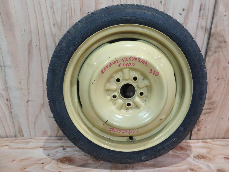 Запасное колесо Toyota Premio ZZT240 1ZZ-FE 2002