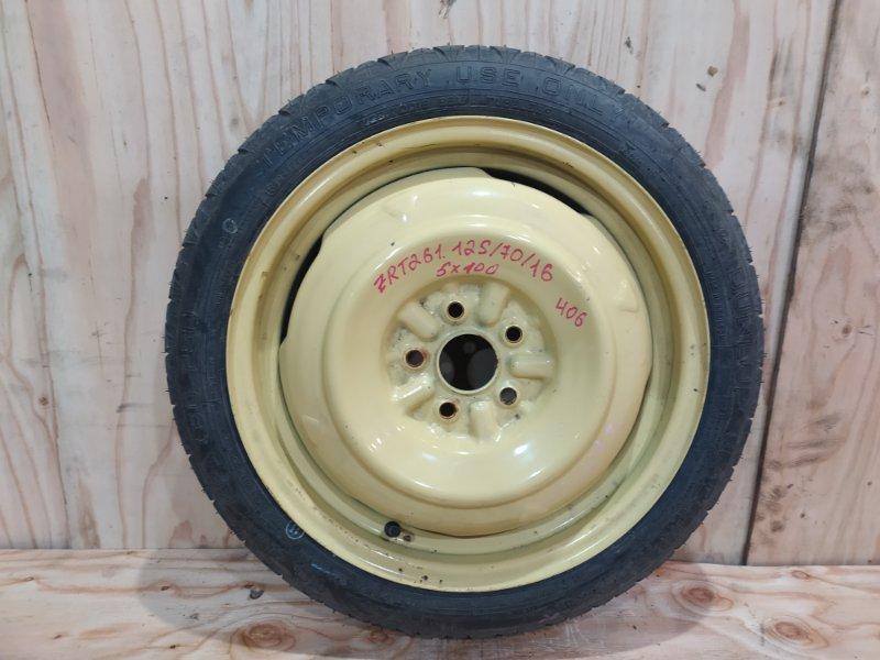 Запасное колесо Toyota Premio ZRT261