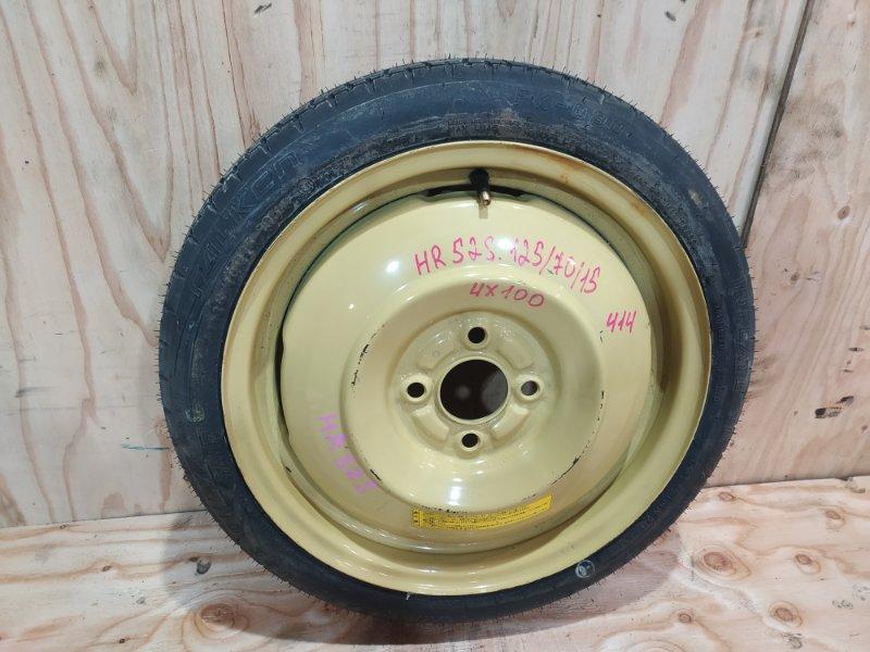 Запасное колесо Suzuki Chevrolet Cruze HR52S M13A 2005