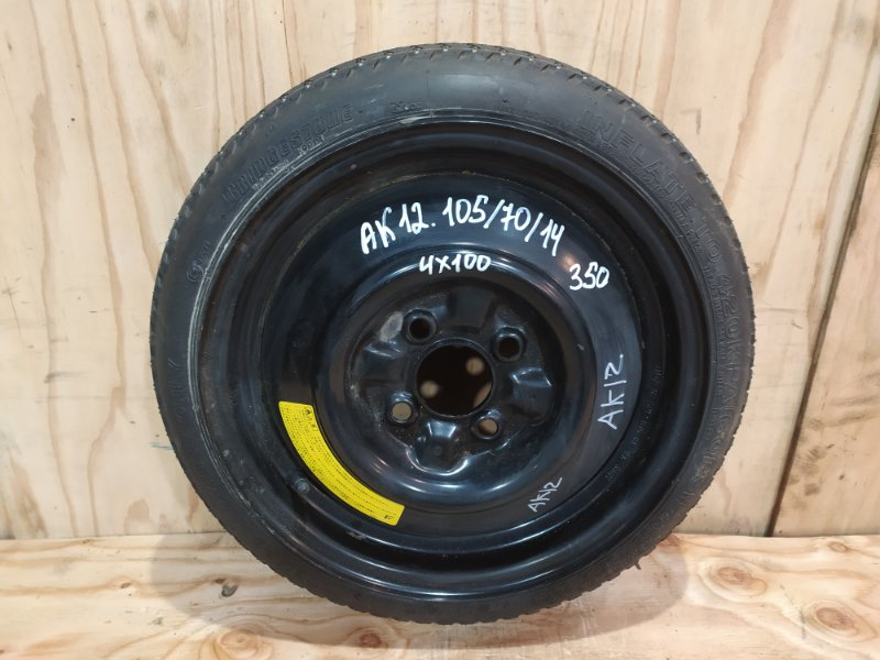 Запасное колесо Nissan March AK12 CR12DE 2003