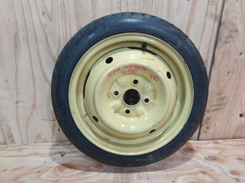 Запасное колесо Toyota Platz SCP11 1SZ-FE 2001