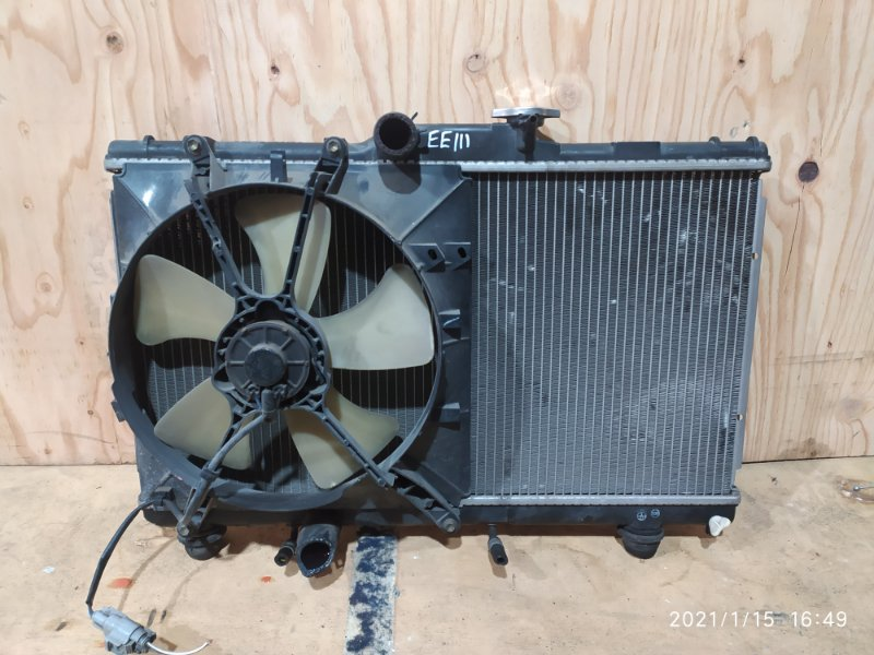 Радиатор двигателя Toyota Corolla EE111 4E-FE 1998