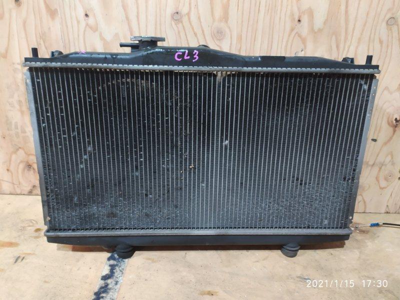 Радиатор двигателя Honda Accord CL3 F20B 2001