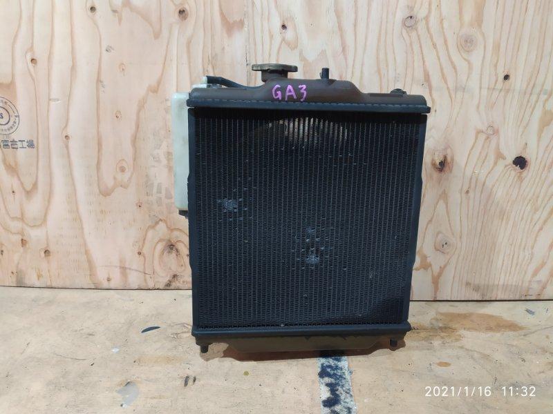 Радиатор двигателя Honda Logo GA3 D13B 2000