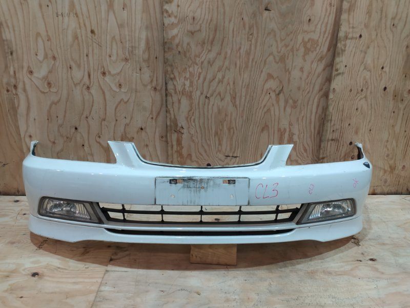 Бампер Honda Accord CL3 F20B 2001 передний