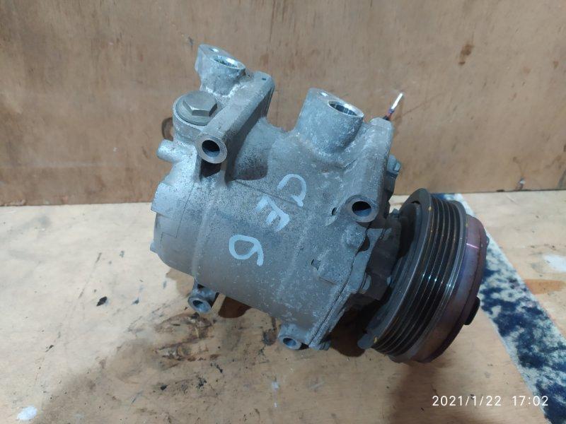 Компрессор кондиционера Honda Fit GE6 L13A 2008