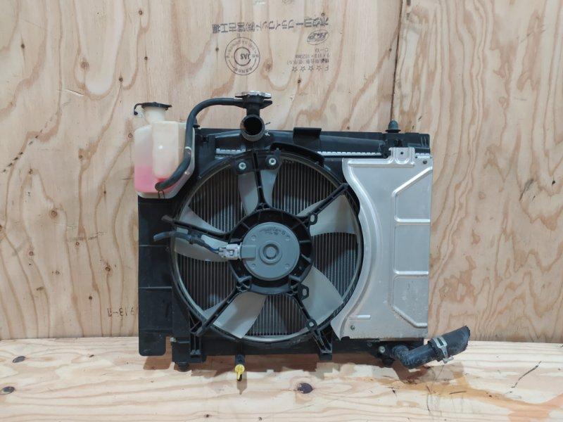 Радиатор двигателя Toyota Ractis NSP120 1NR-FE 2012