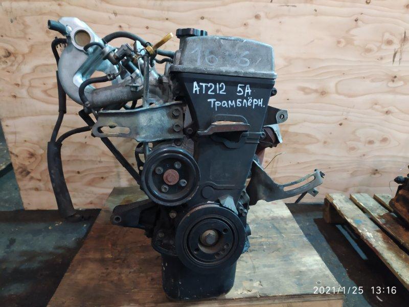 Двигатель Toyota Carina AT212 5A-FE 1998
