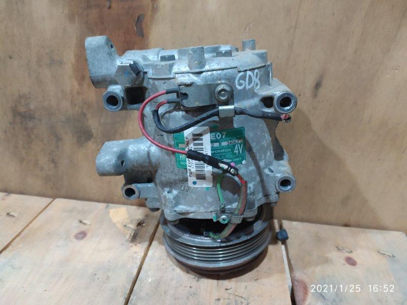 Компрессор кондиционера Honda Fit Aria GD8 L15A 2003