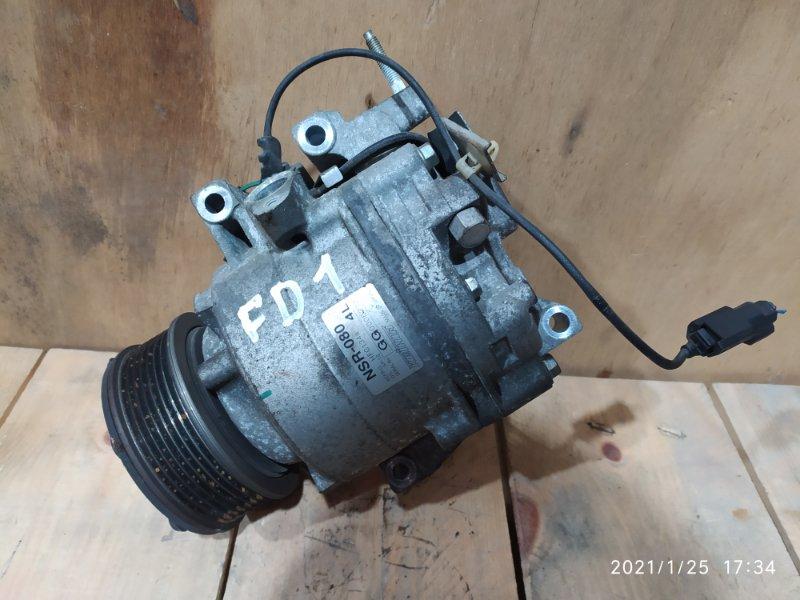 Компрессор кондиционера Honda Civic FD1 R18A 2006