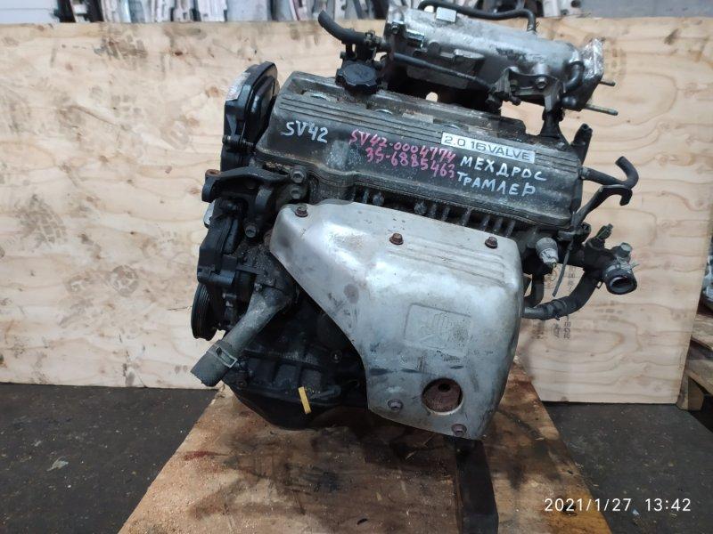 Двигатель Toyota Vista SV42 3S-FE 1995