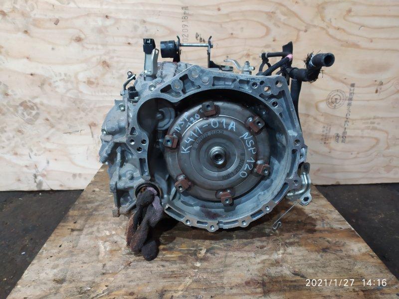 Акпп Toyota Ractis NSP120 1NR-FE 2012