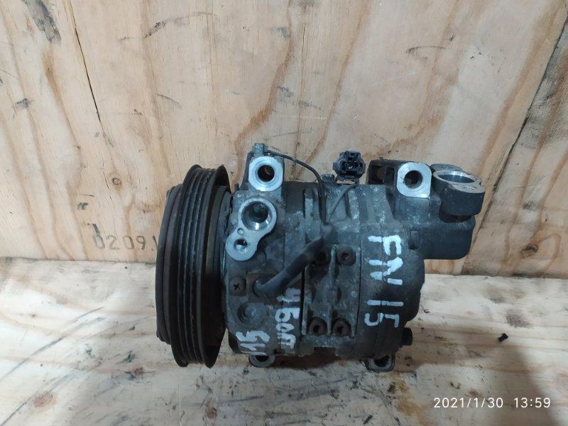 Компрессор кондиционера Nissan Pulsar FN15 GA15DE 1997