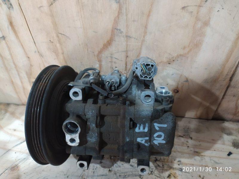 Компрессор кондиционера Toyota Corolla Ceres AE101 4A-FE 1996