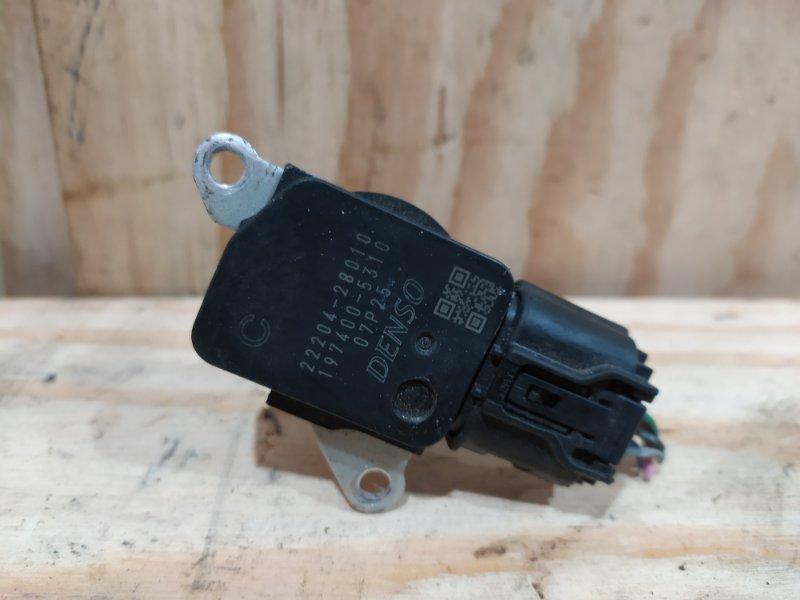 Датчик расхода воздуха Toyota Ractis NSP120 1NR-FE 2012