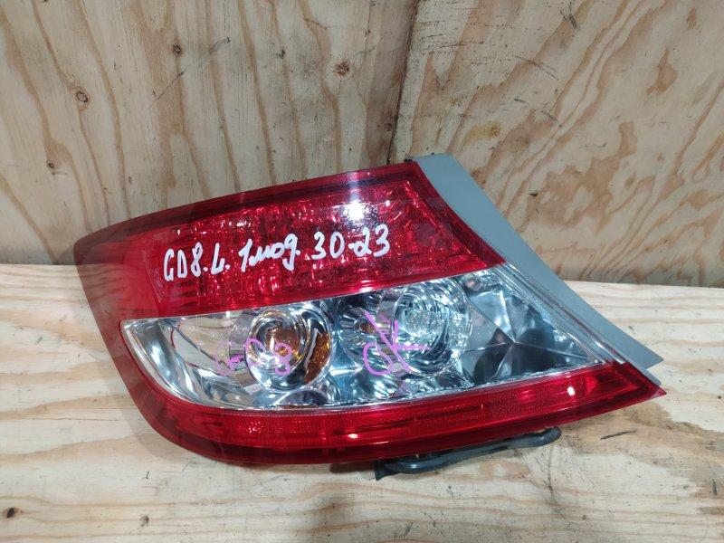 Фонарь стоп-сигнала Honda Fit Aria GD8 L15A 2003 левый