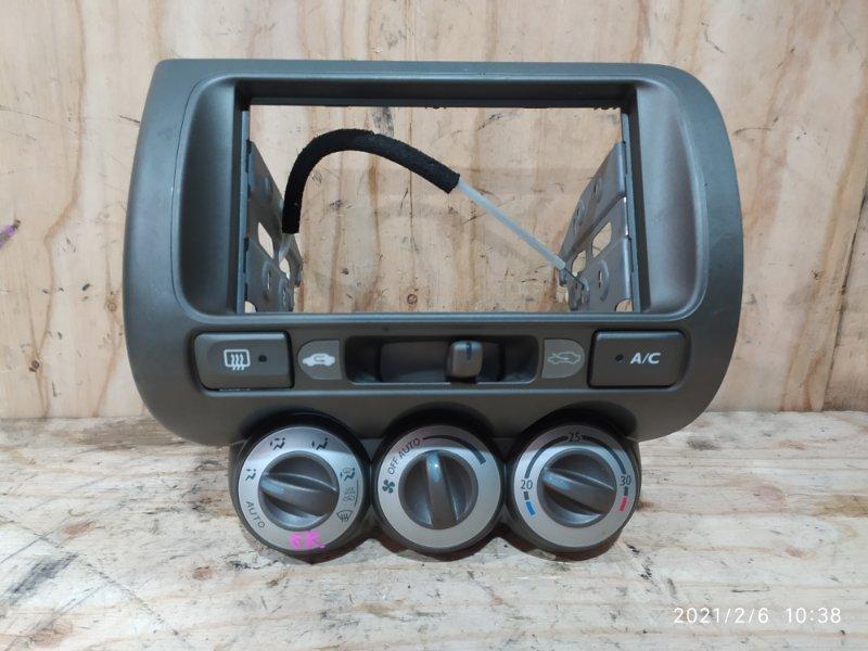 Блок управления климат-контролем Honda Fit Aria GD8 L15A 2003
