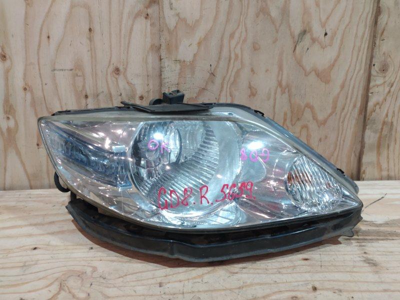 Фара Honda Fit Aria GD8 L15A 2007 правая