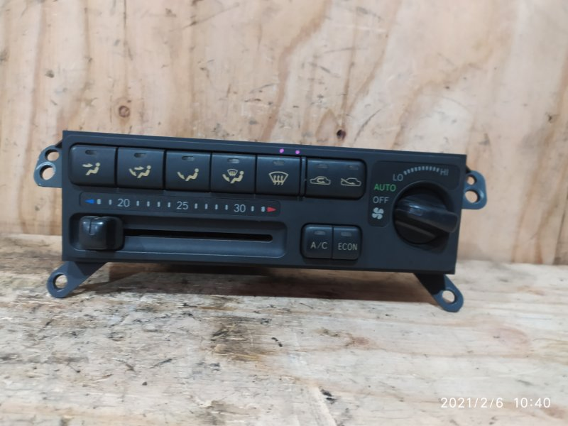 Блок управления климат-контролем Toyota Corolla Ceres AE101 4A-FE 1996