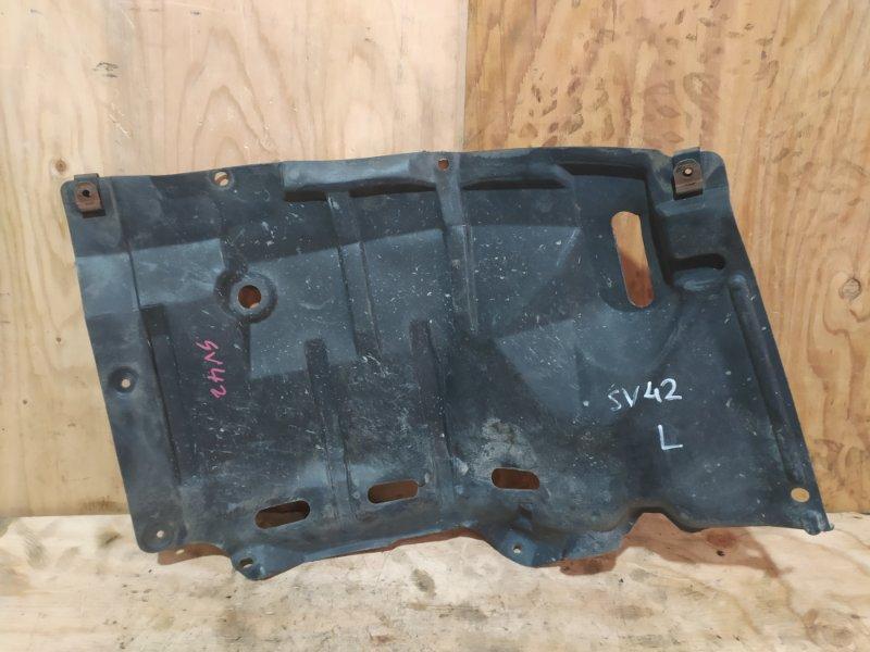 Защита двс Toyota Vista SV42 3S-FE 1995 левая