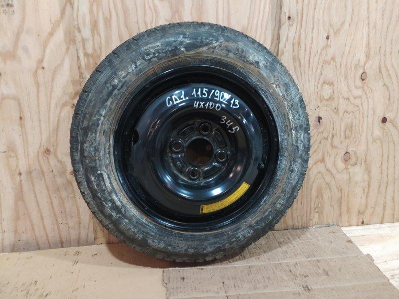 Запасное колесо Honda Fit GD1 L13A 2006