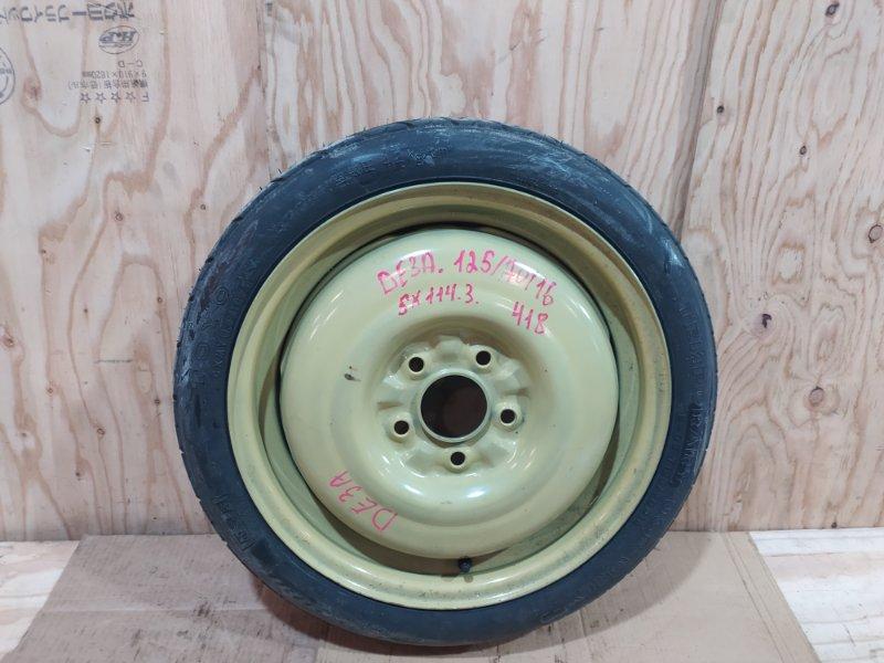 Запасное колесо Mitsubishi Fto DE3A 6A12 1995
