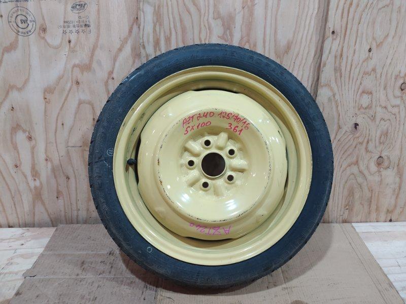 Запасное колесо Toyota Allion AZT240 1AZ-FSE 2002