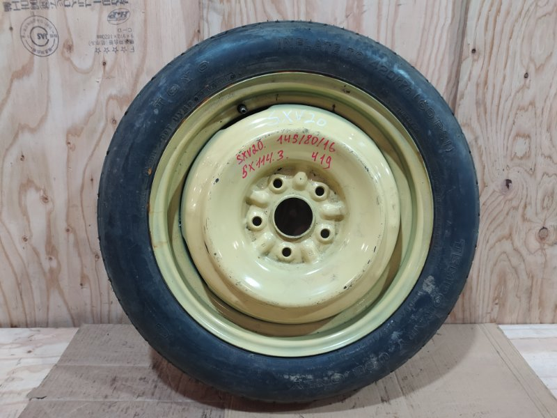Запасное колесо Toyota Camry Gracia SXV20 5S-FE 2000