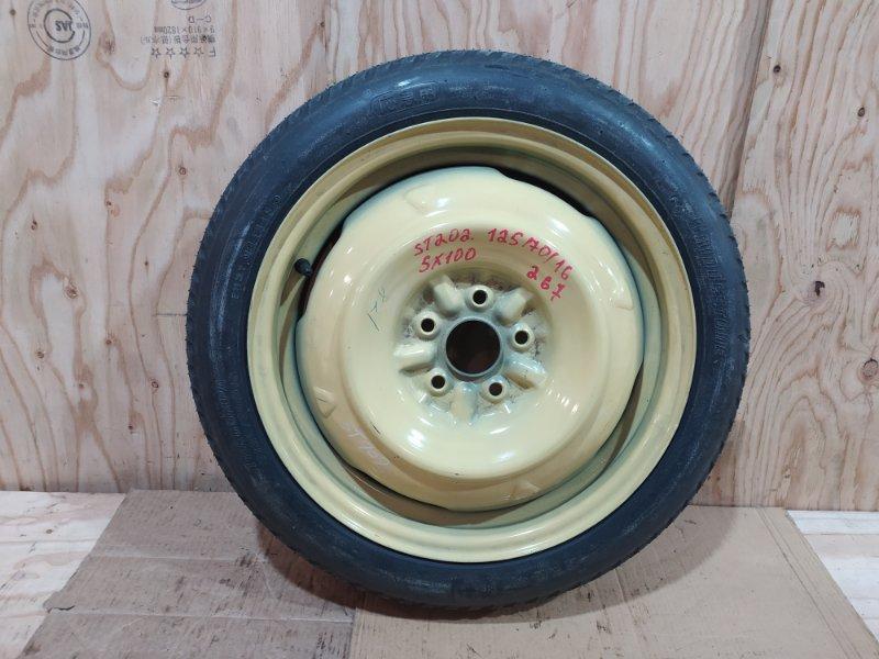 Запасное колесо Toyota Celica ST202 3S-FE 1995