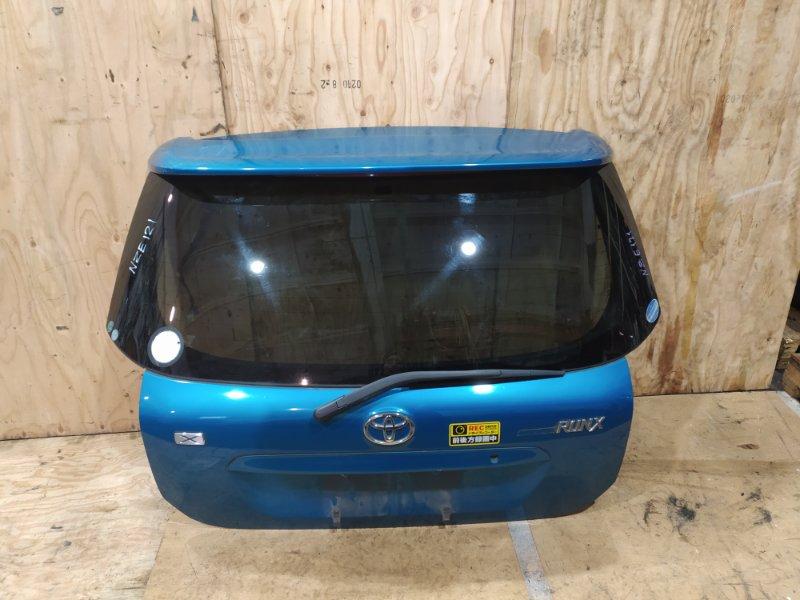 Дверь задняя багажника Toyota Corolla Runx NZE121 1NZ-FE 2001
