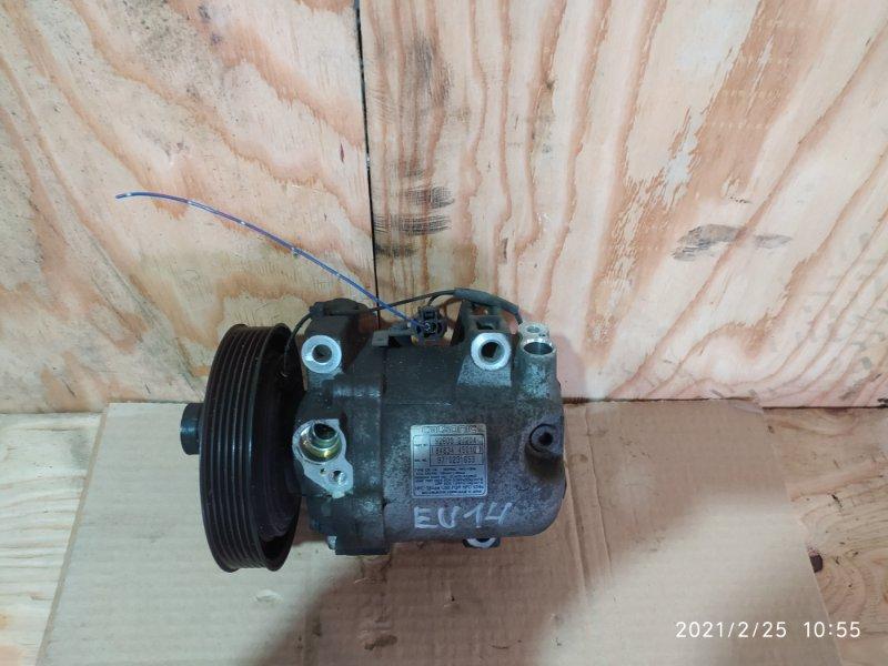 Компрессор кондиционера Nissan Bluebird EU14 SR18DE 1997