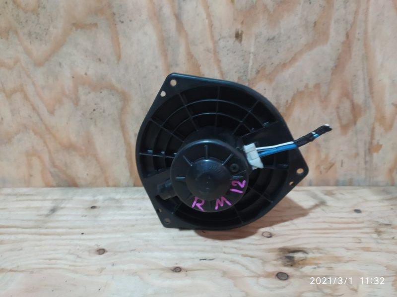 Вентилятор печки Nissan Liberty RM12 QR20DE 2001