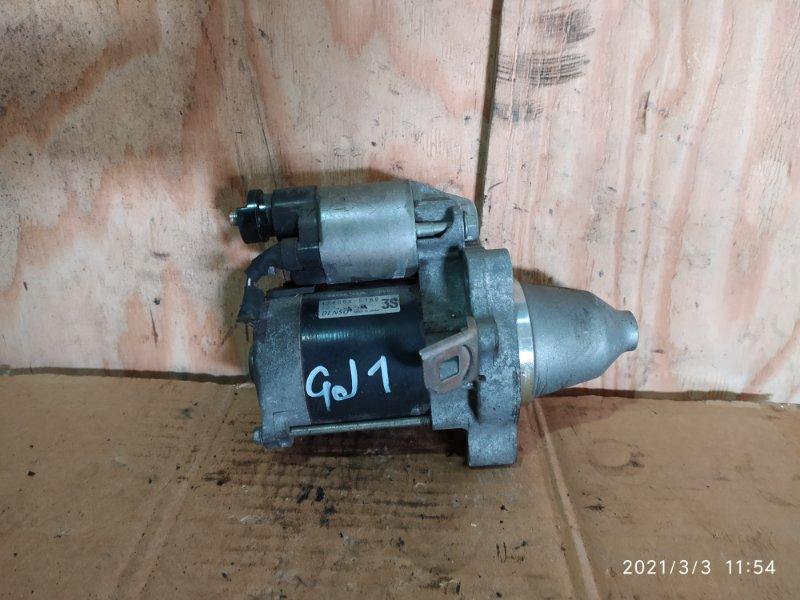 Стартер Honda Airwave GJ1 L15A 2005
