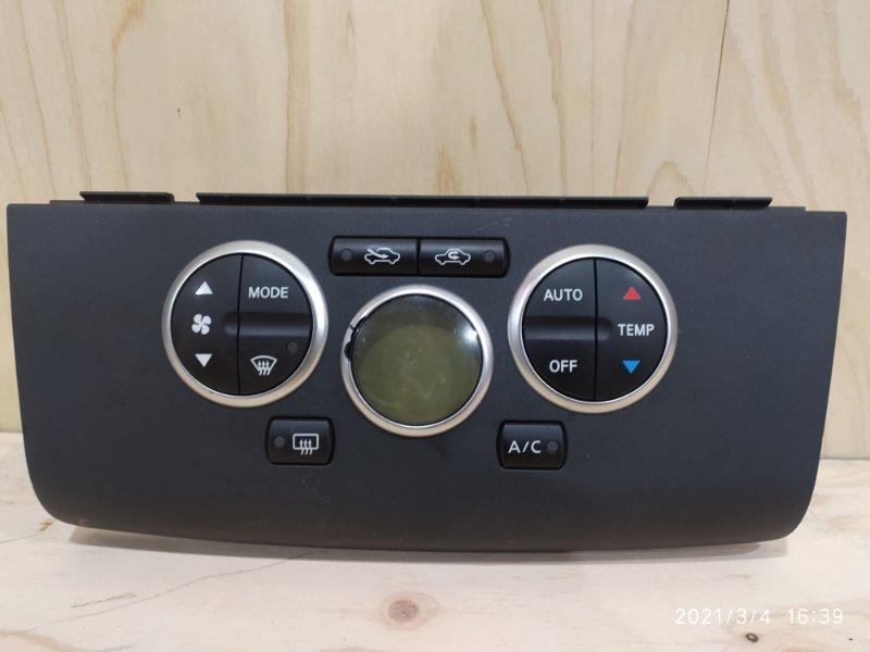 Блок управления климат-контролем Nissan Tiida Latio SC11 HR15DE 2007