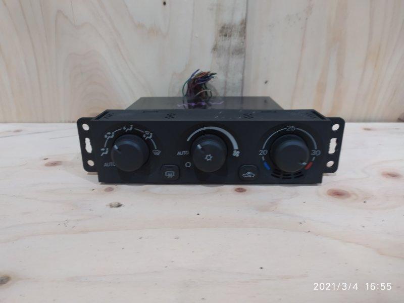 Блок управления климат-контролем Mitsubishi Pajero Io H77W 4G94 2002