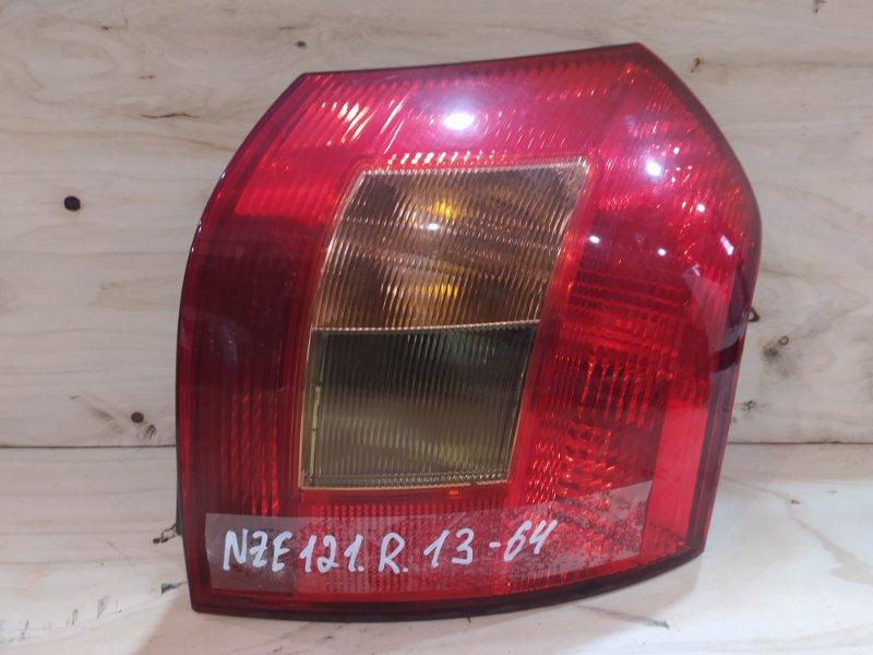 Фонарь стоп-сигнала Toyota Corolla Runx NZE121 1NZ-FE 2001 правый