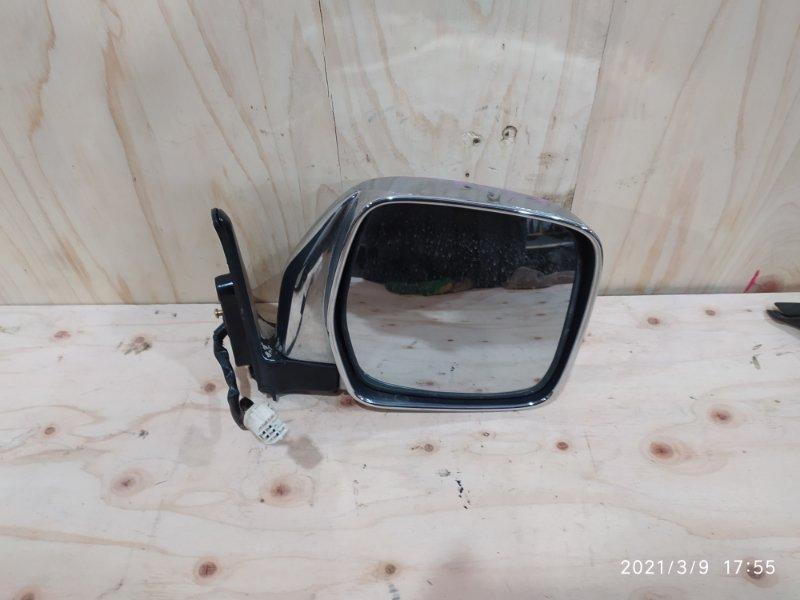 Зеркало боковое Toyota Land Cruiser Prado KZJ95W 1KZ-TE 1996 правое