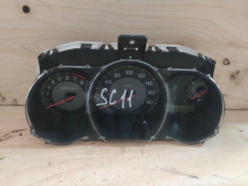 Комбинация приборов Nissan Tiida Latio SC11 HR15DE 2007