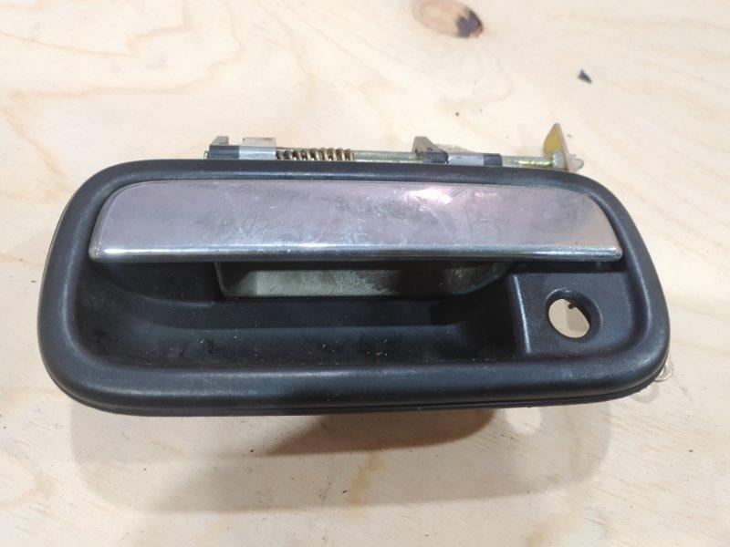 Ручка наружная Toyota Land Cruiser Prado KZJ95W 1KZ-TE 1996 передняя левая
