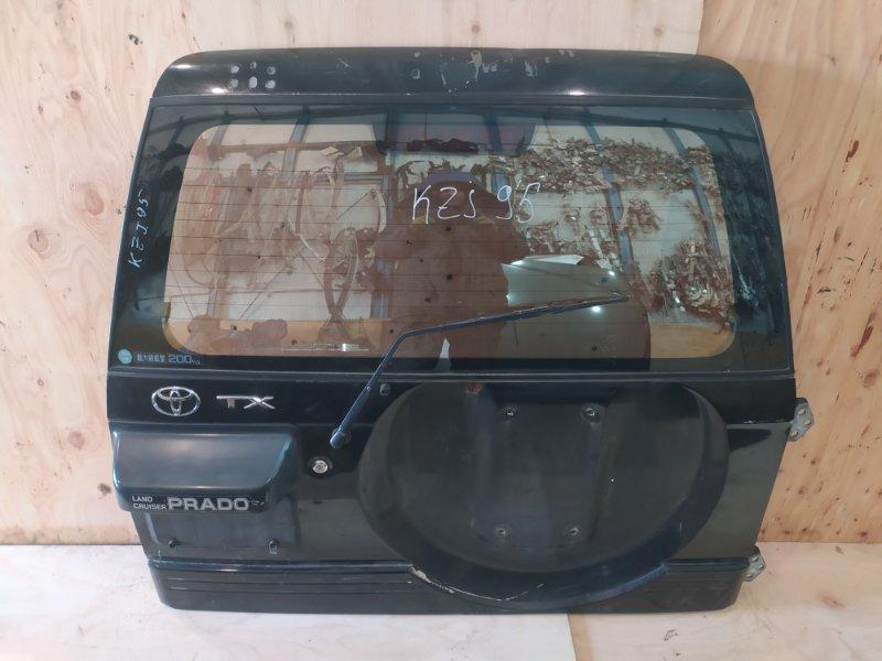 Дверь задняя багажника Toyota Land Cruiser Prado KZJ95W 1KZ-TE 1996