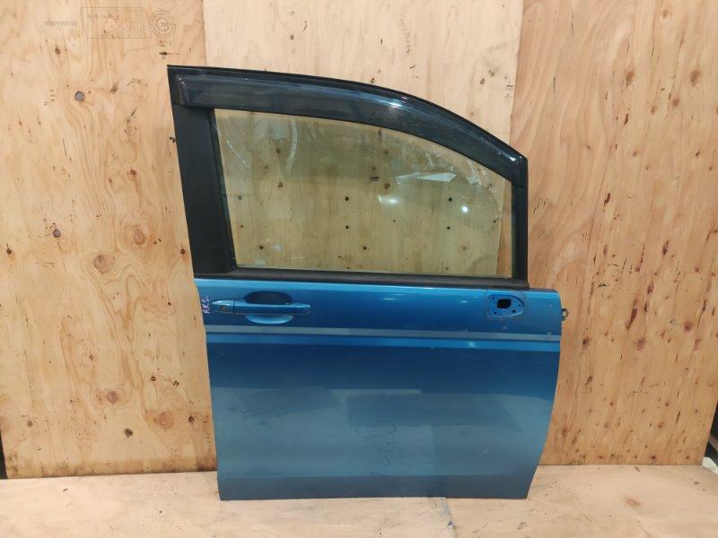 Дверь боковая Honda Stepwgn RK2 R20A 2010 передняя правая
