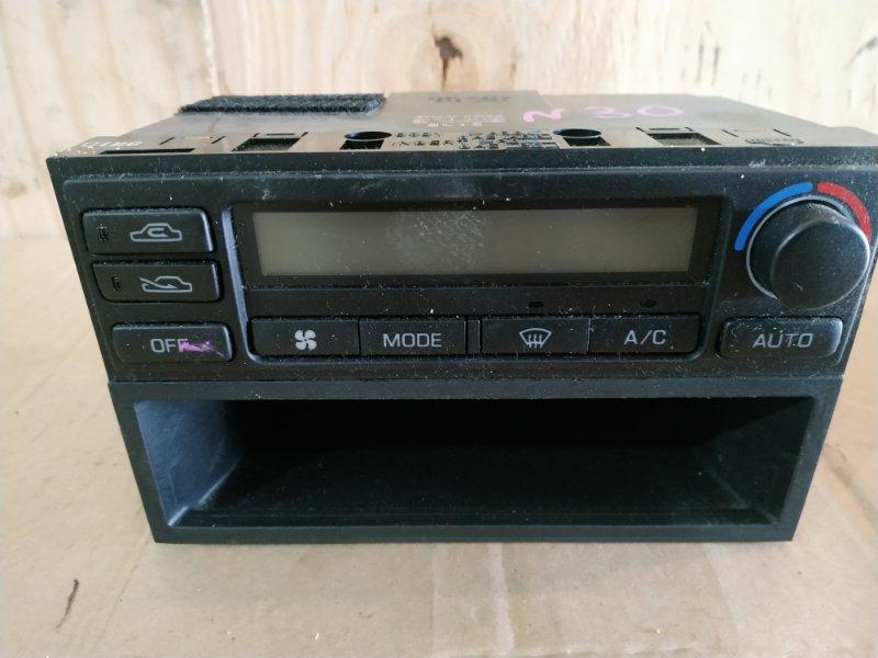 Блок управления климат-контролем Nissan Rnessa N30 SR20DE 1999