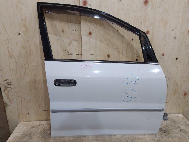 Дверь боковая Toyota Nadia SXN10 3S-FSE 1999 передняя правая