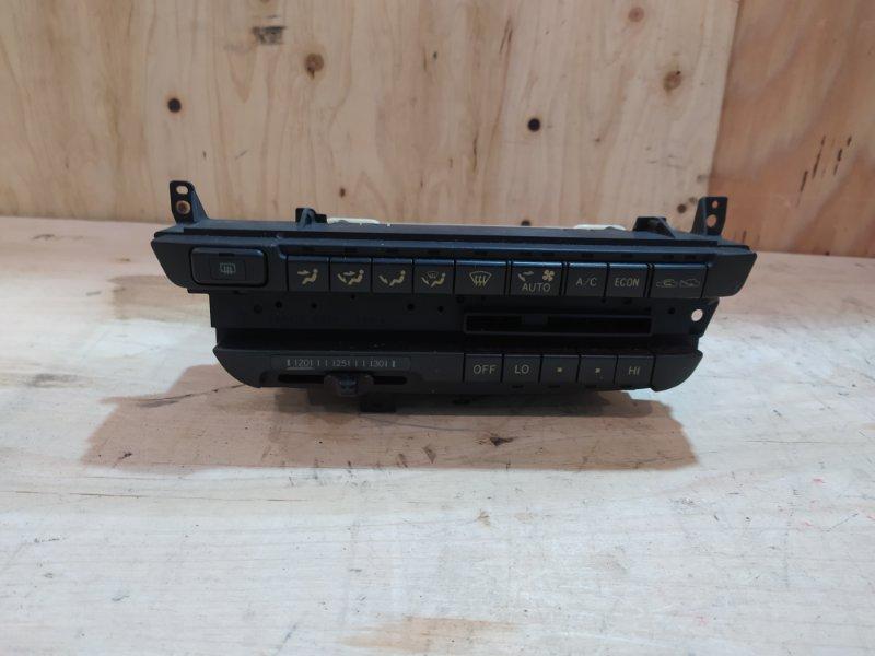Блок управления климат-контролем Toyota Carina ST190 4S-FE 1993