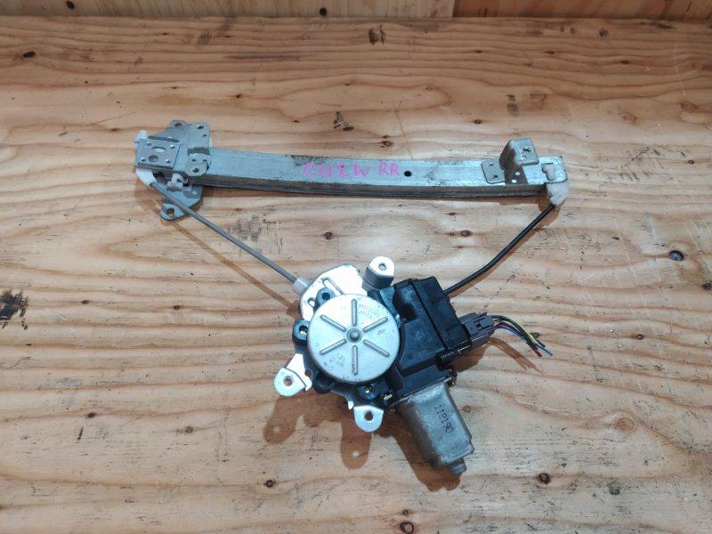 Стеклоподъемник Mitsubishi Airtrek CU2W 4G63 2002 задний правый