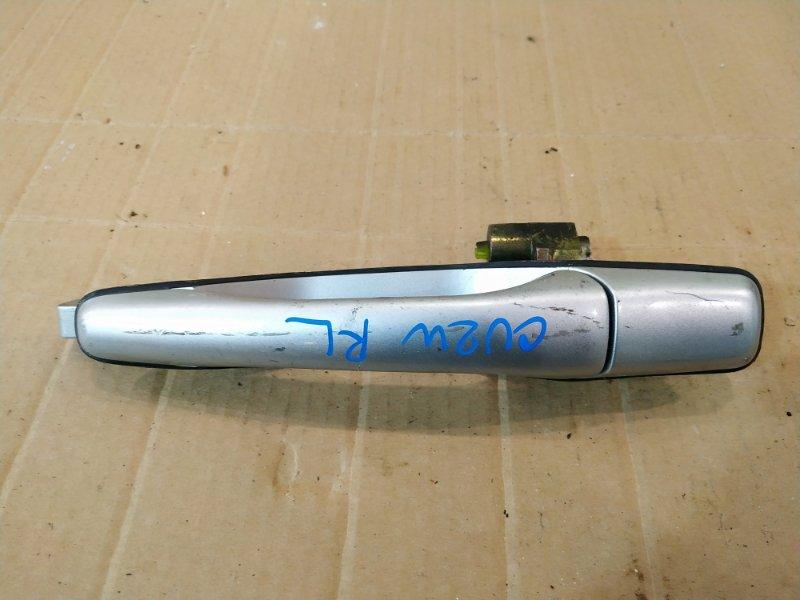Ручка наружная Mitsubishi Airtrek CU2W 4G63 2002 задняя левая